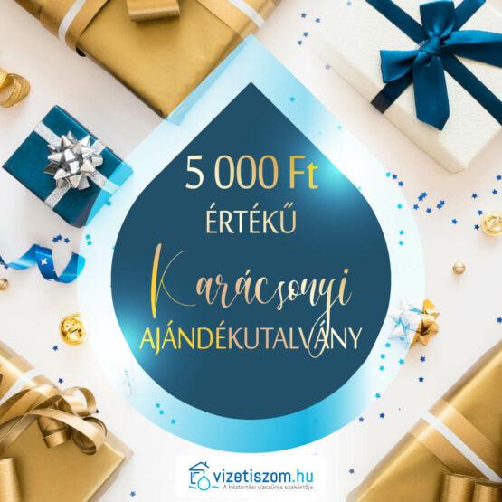 Vizetiszom.hu 5.000,-Ft-os ajándékutalvány