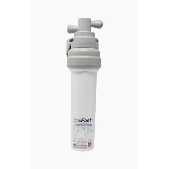 Doulton EcoFast beépíthető ólomszűrő víztisztító Ultracarb szűrőbetéttel