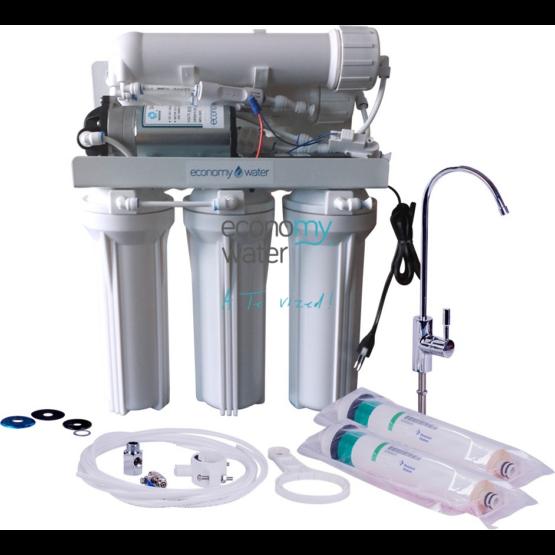 Economy CDF 200 beépíthető tartály nélküli ozmózis víztisztító nyomásfokozóval