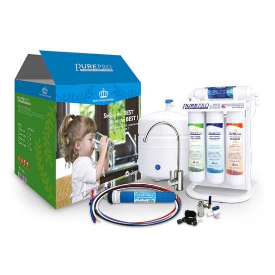 PurePro ERS 105 RO beépethető ozmózis víztisztító
