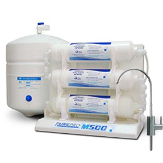 PurePro M500P beépíthető ozmózis víztisztító nyomásfokozóval