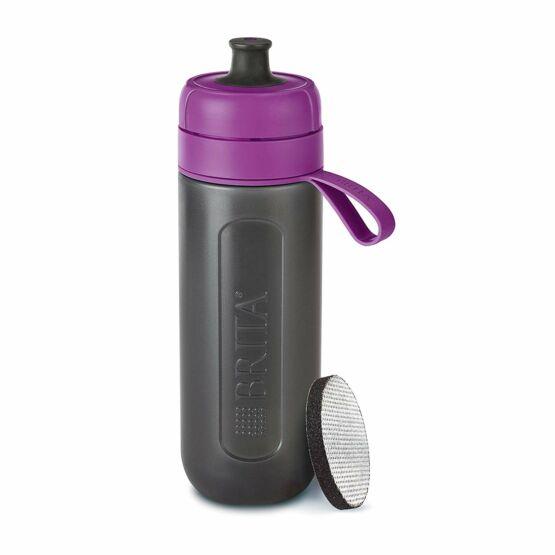 Brita Fill&Go Active vízszűrő kulacs lila színben