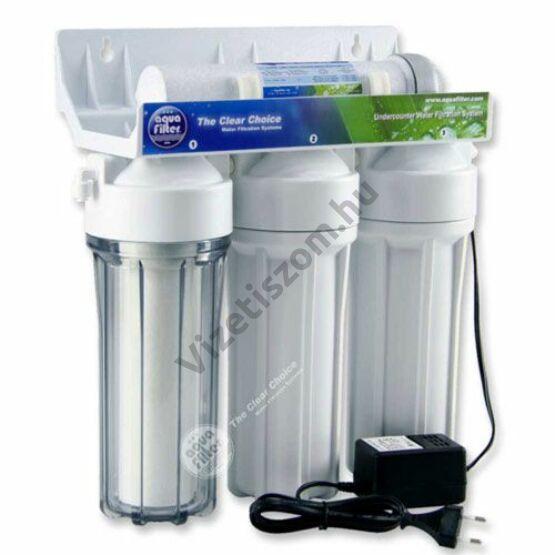 Aquafilter FP3 plus  beépíthető víztisztító UV lámpával