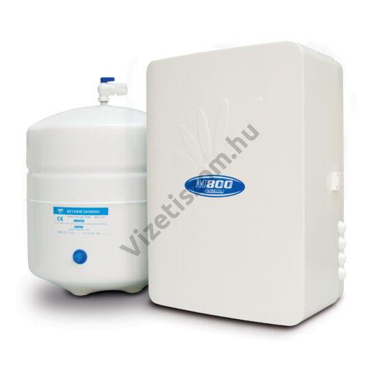 PurePro M800P beépíthető ozmózis víztisztító nyomásfokozóval