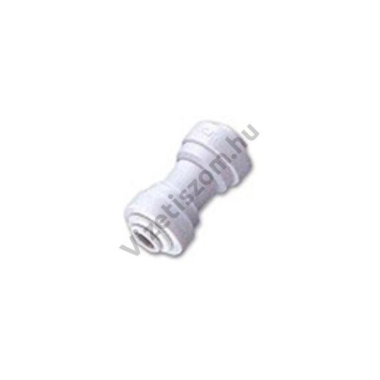 """Gyors csatlakozó egyenes összekötő idom 1/4"""" csővezeték x 1/4"""" csővezeték (3)"""